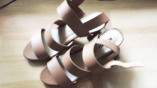 sandales camaieu