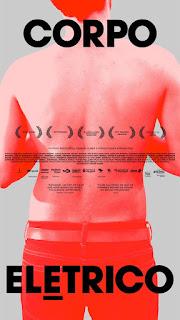 "Poster do filme ""Corpo Elétrico"""