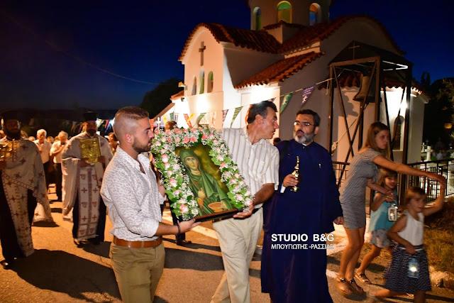 Τα Πυργιώτικα Ναυπλίου γιορτάζουν την Αγία Παρασκευή (βίντεο)