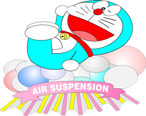 Air Suspension Doraemon