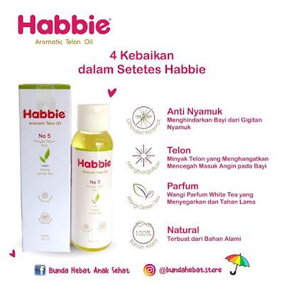 Manfaat Minyak Telon Habbie Aromaric