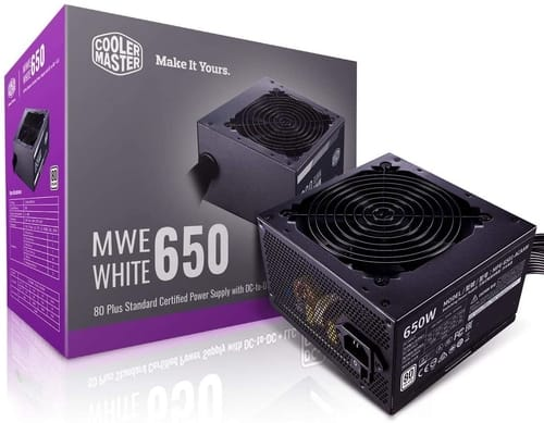 Review Cooler Master MWE 650 White 650W Power Supplie