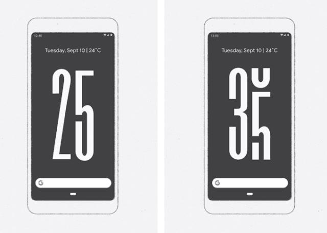 خلفية متحركة من جوجل ستخبرك عدد مرات استخدام هاتفك المحمول في اليوم