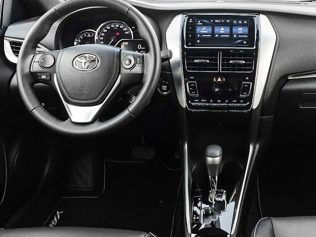 Toyota Yaris XLS 1.5 CVT 2019 - painel