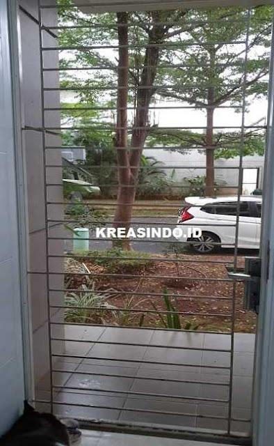 Ganti Kawat Nyamuk Pintu di Rumah Bu Astri Lebak Bulus Jakarta