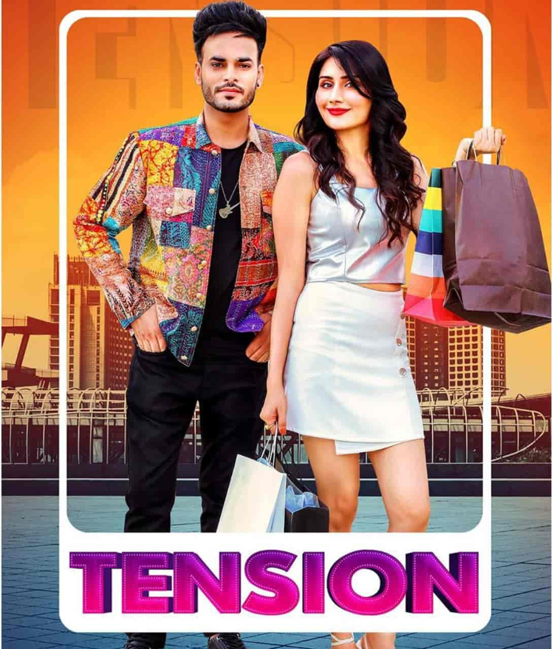 Tension Punjabi Song Image By Arsh Maini and Afsana Khan