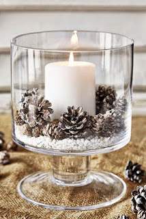 24 Christmas Candles Decoration Ideas