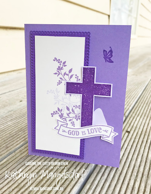 Stampin' Up! Easter Card, Hold on to Hope created by Kathryn Mangelsdorf