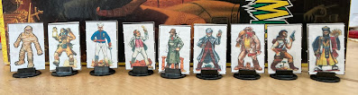 Curse of the Mummys Tomb Paper Minis