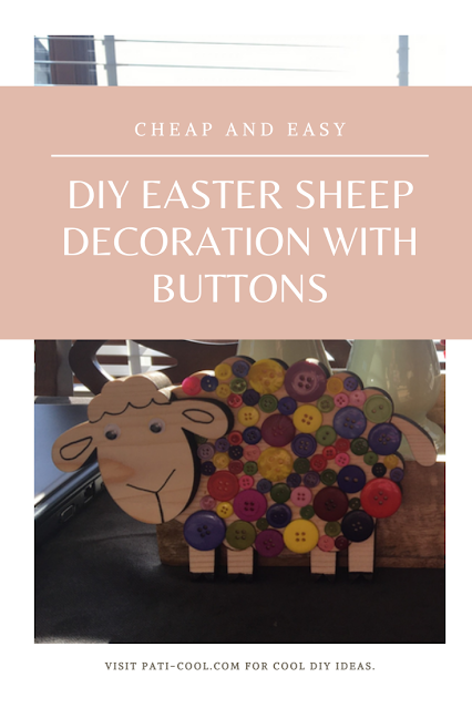 Easter, DIY, sheep, decoration, crafts, arts and crafts, spring,