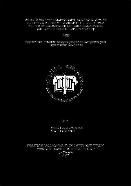 Format Judul Tesis IBLAM