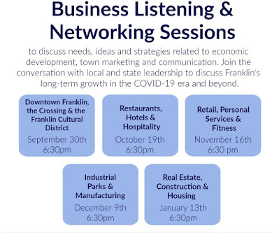 Business Listening & Networking Sessions Scheduled