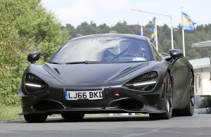 McLaren 750LT Test Mule Spied Meliputi Belakang Di 'Ring