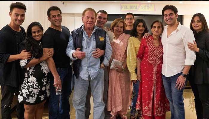 Arpita Khan Family Photo
