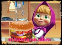 ماشا تطبخ لعبة طبخ للاطفال