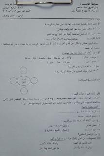 """تجميع امتحانات   للصف الرابع الإبتدائى """"الفعلى """" لغة عربية  إدارات ترم أول لتدريب عليها 81542508_2630871227144875_3733061904394878976_n"""