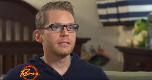Padre con la rara enfermedad de Stargardt ve a su familia
