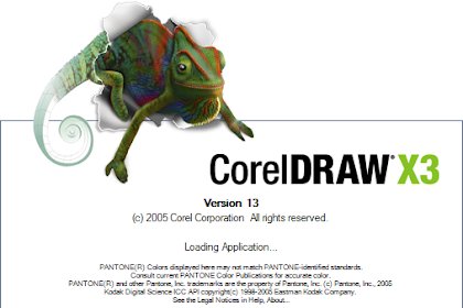 Free Download Software Corel Draw Graphic Suite X3 for Computer or Laptop