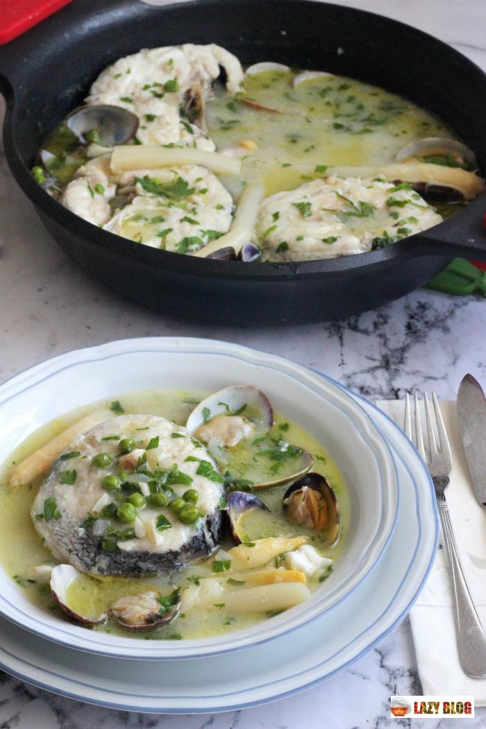 Cocinar Merluza A La Vasca | Lazy Blog Como Hacer Merluza En Salsa Verde Koskera O Merluza A