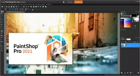 تحميل برنامج Corel PaintShop Pro 2021 v23.0.0.143 لتحرير الصور وتصميم الجرافيك