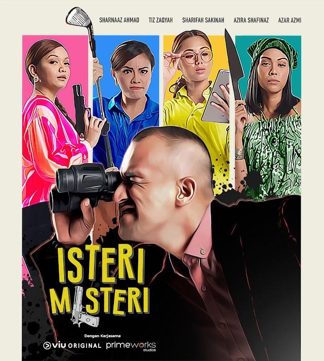 Drama Isteri Misteri Episod1-10 (Akhir) Lakonan Sharnaaz Ahmad ada 3 isteri!