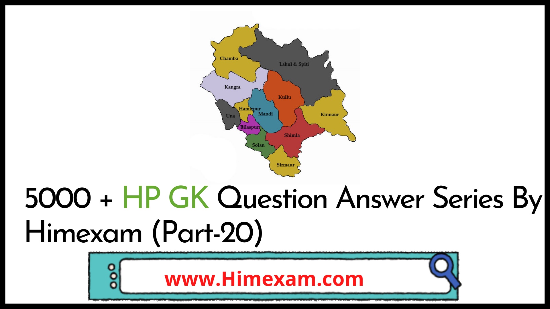 5000 + HP GK Question Answer Series By Himexam (Part-20)