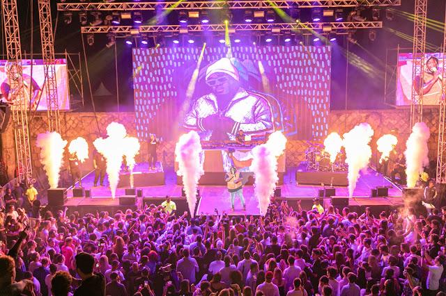 Miles de personas disfrutaron del concierto de fin de año de Casa Brugal y Casa de Campo