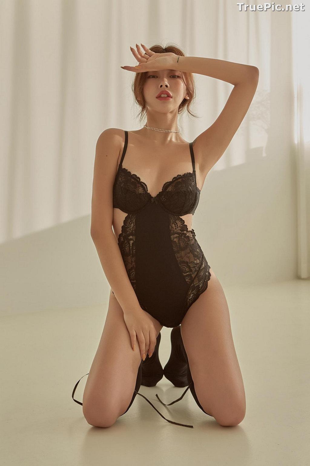 Image Korean Fashion Model - Da Yomi (다요미) - Lountess Spring Lingerie #1 - TruePic.net - Picture-7