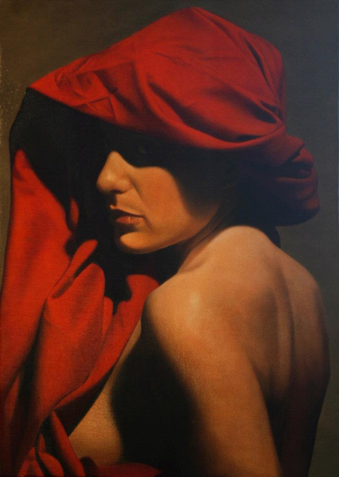 "British Hyper realist Figurative Painter-""Toby Boothman 1973"""