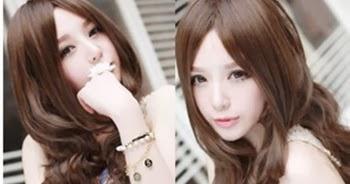 Model Rambut Keriting Gantung Untuk Wajah Bulat ~ Ayeey.com