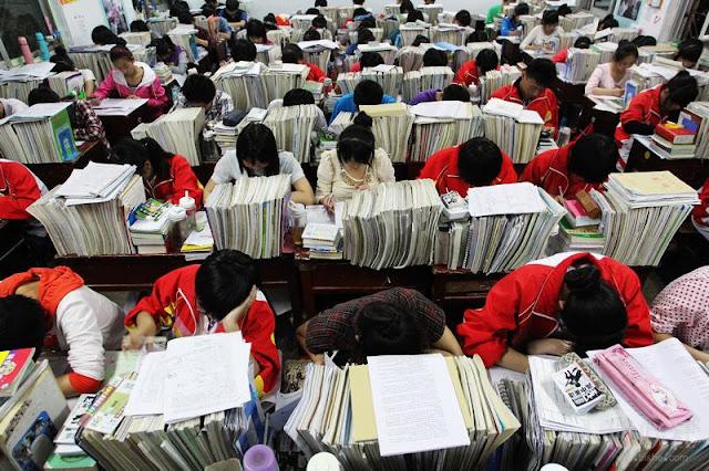Gaokao, uno de los exámenes más díficiles del mundo.