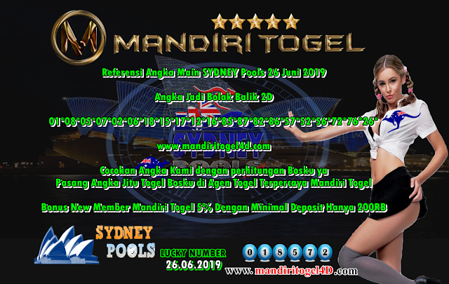 Prediksi Togel Sidney Mandiri Togel 26 Juni 2019