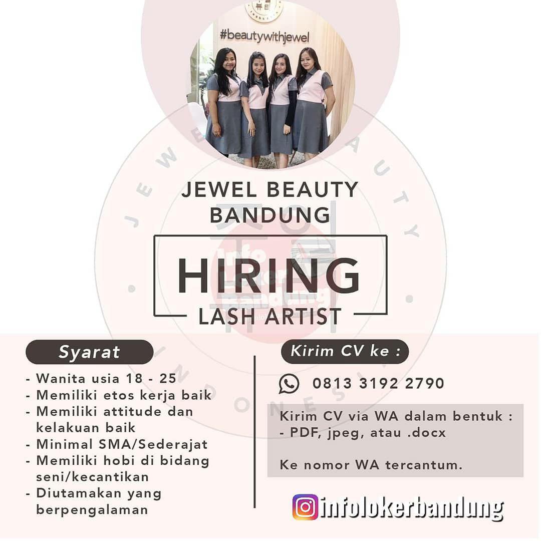 Lowongan Kerja Lash Artist Jewel Beauty Bandung September 2019