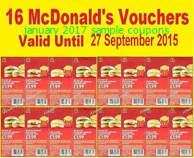 Mcdonalds coupons january 2018 ontario