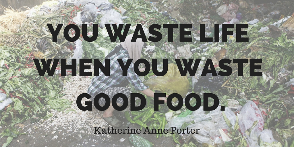 Love food and hate waste - say no to the food waste