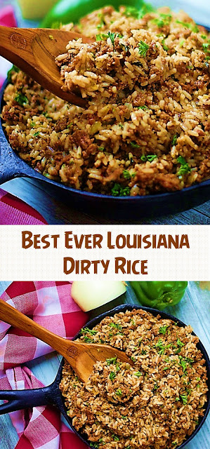 Best Ever Louisiana Dirty Rice