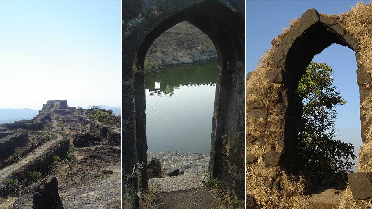 राजगड किल्ल्याचे फोटो   Rajgad Fort Photos