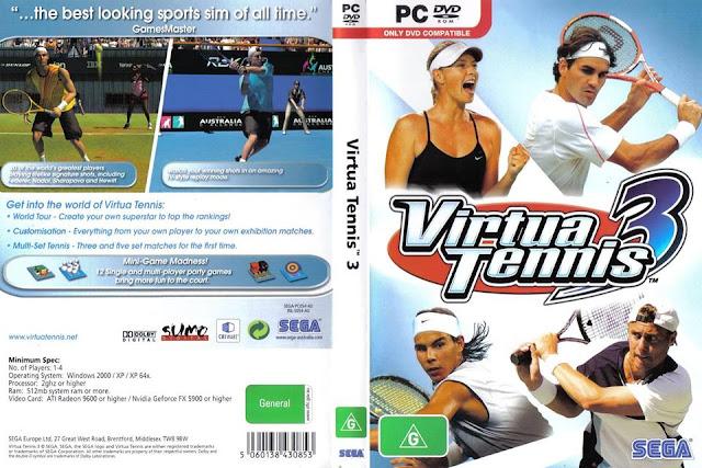 لعبه التنس الرائعه فيرتيا تنس 3 مضغوطه بحجم خفيف افضل اصدار على الانترنت