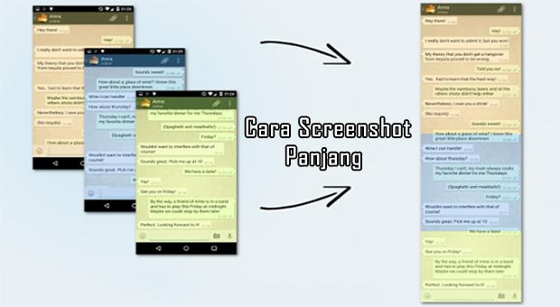 Cara Membuat Screenshot Panjang di Segala Ponsel Android