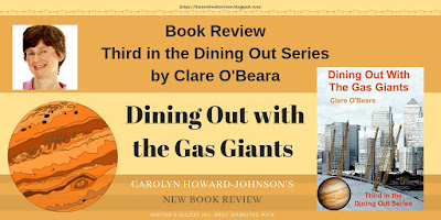 Third in the Dining Out Around the Solar System Series by Clare O'Beara