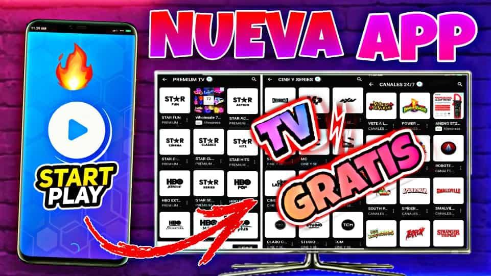 START PLAY La NUEVA Aplicacion De TV Premium Gratis Para Android 2021