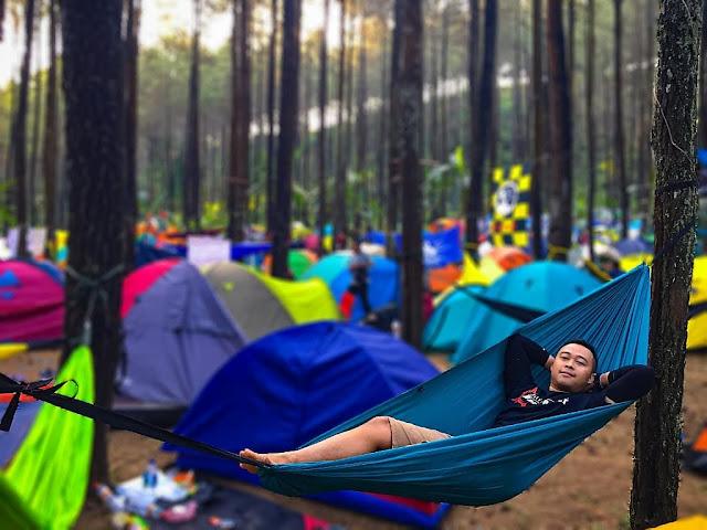 Camping di Puthuk Panggang Welut Mojokerto