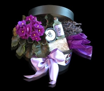 Luxurious Lavender Gift Box