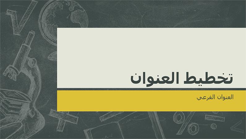 قوالب بوربوينت عربية جاهزة للكتابة عليها 2019 Free