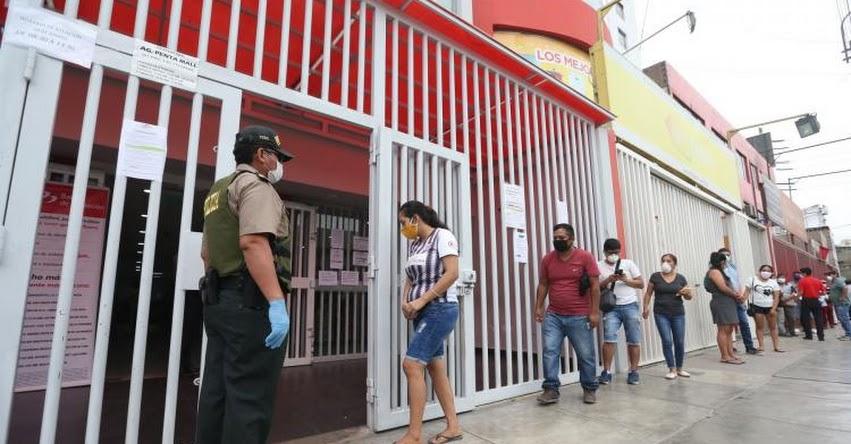 BONO FAMILIAR UNIVERSAL: Banco de la Nación garantizó orden y control en atención de beneficiarios