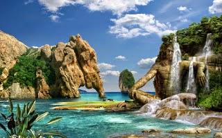 Download Gambar Pemandangan Alam Indah Bergerak Pemandanganoce