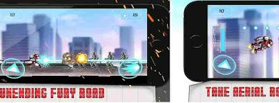 Game Iron Man Iron Robot City Rescue Mission