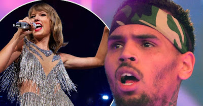@Instamag - Chris Brown slams Taylor Swift, Kanye West