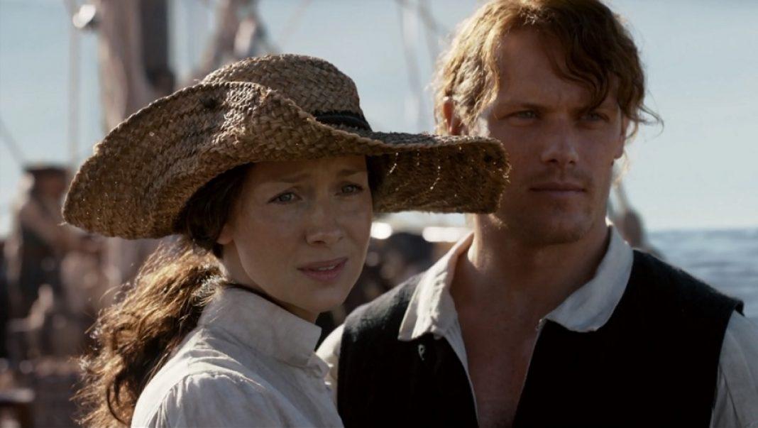 Claire e jamie o resgate no mar - Clube da Litura Outlander