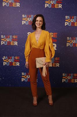 Carolina Kasting é Agnes em 'Salve-se Quem Puder', a nova novela das 7 — Foto: Artur Meninea/Gshow
